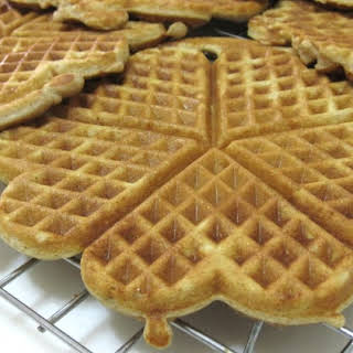 Low Carb Cinnamon Buttermilk Soy Waffles (for Atkins Diet Phase 1).