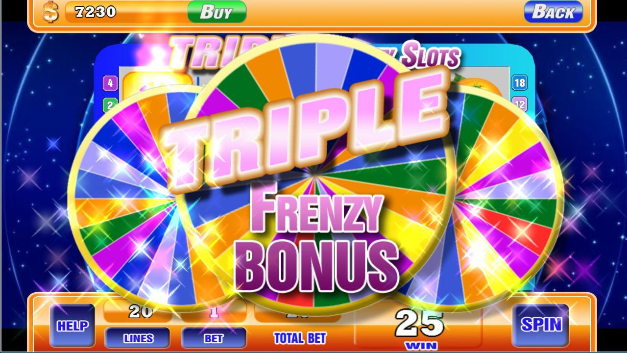 triple frenzy slots for free