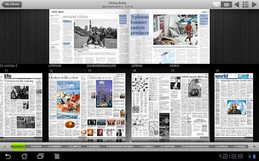 China Daily iPaper screenshots 1