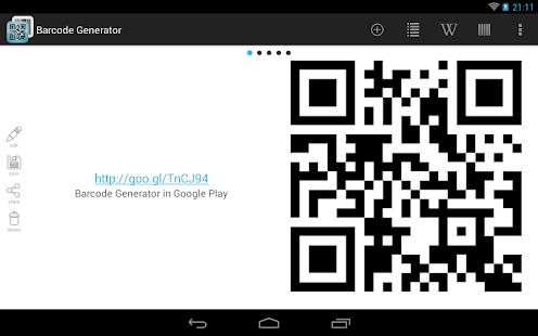 Barcode Generator 條碼生成器