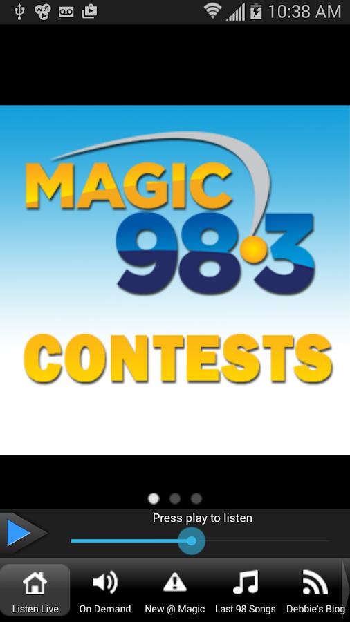 Magic 98.3 - screenshot