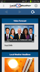 WPLG Local 10 Weather Free App - screenshot thumbnail