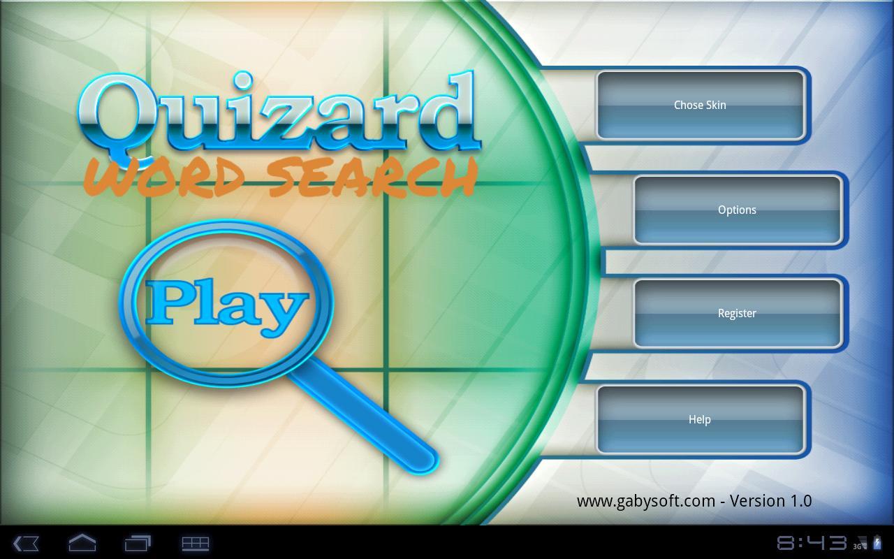 Quizard Word Search- screenshot