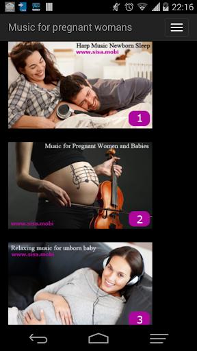 Music for pregnant women