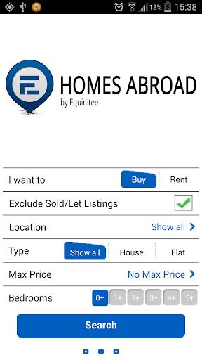 【免費生活App】Homes Abroad-APP點子
