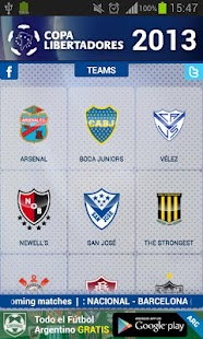 Copa Libertadores 2013- screenshot thumbnail