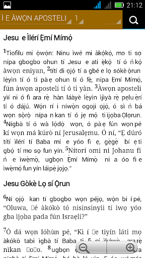 Bible in Yoruba