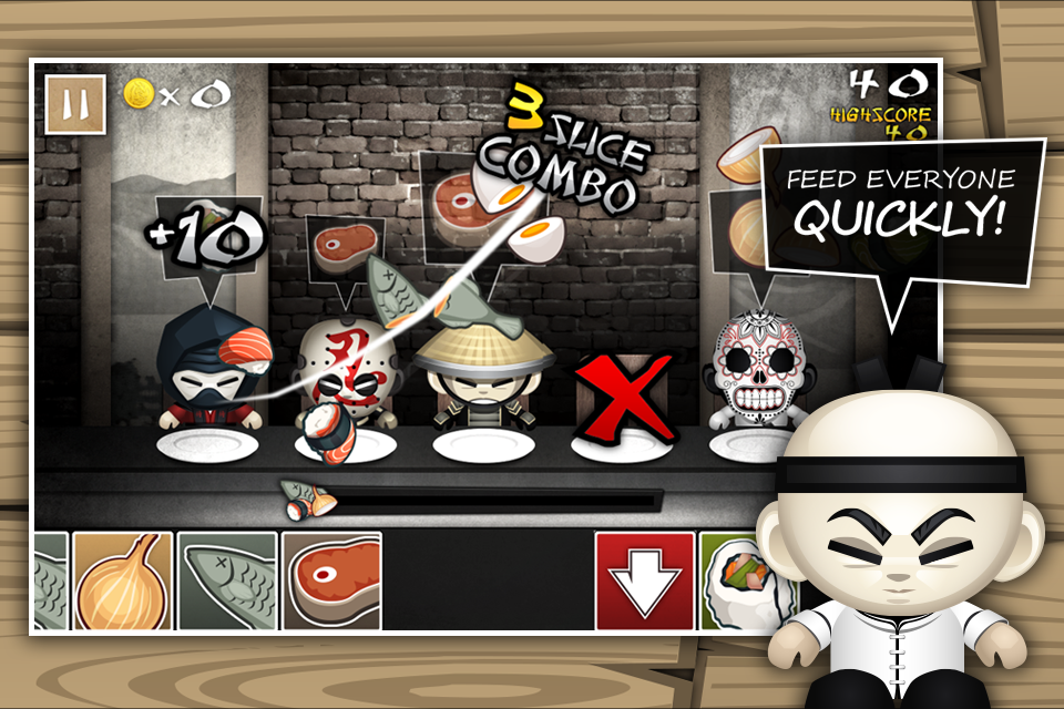 The Hibachi Ninja- screenshot
