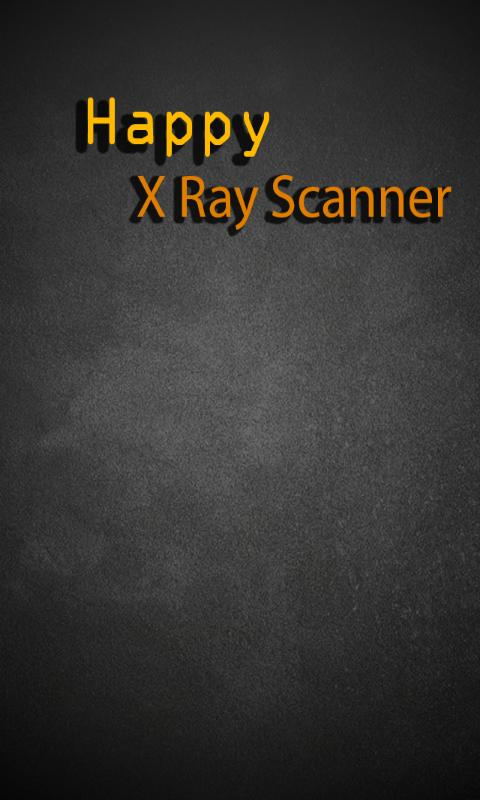 Happy X Ray Scanner - screenshot