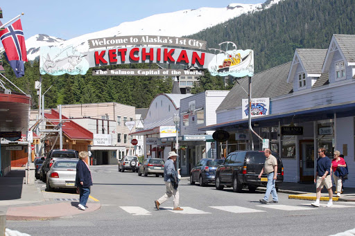 welcome-to-Ketchikan-Alaska - Welcome to Ketchikan, Alaska's first city and the self-proclaimed salmon capital of the world.