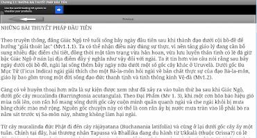 Screenshot of Duc Phat Lich Su - Kinh Phat