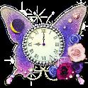 月と太陽の占い時計 -butterfly- logo