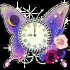 月と太陽の占い時計 -butterfly- icon