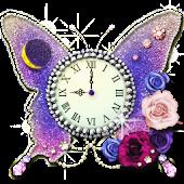 月と太陽の占い時計 -butterfly-