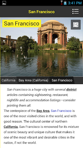 California Travel Guide WithMe