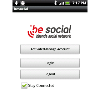 besocial account manager android apps on play