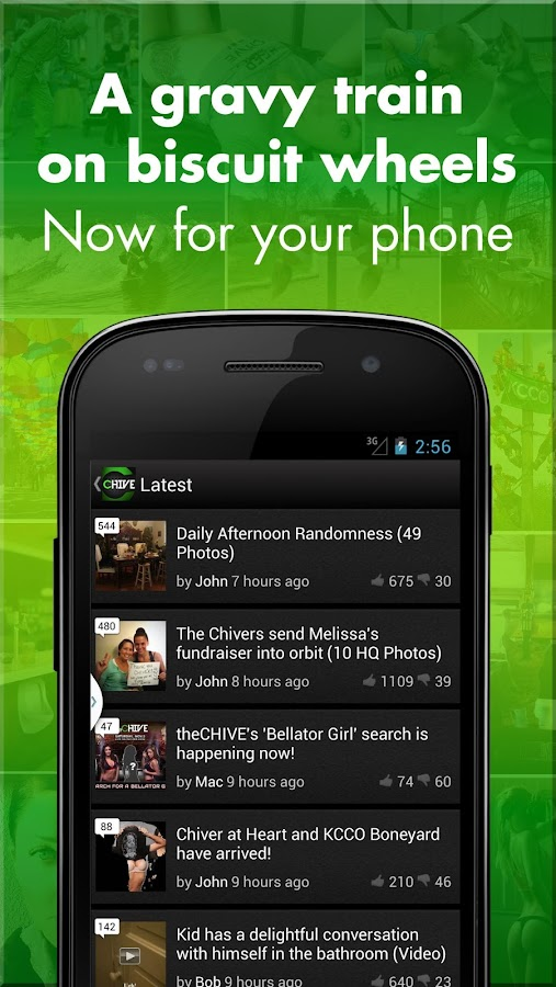 theCHIVE - screenshot