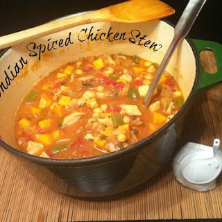 Indian Spiced Chicken Stew.