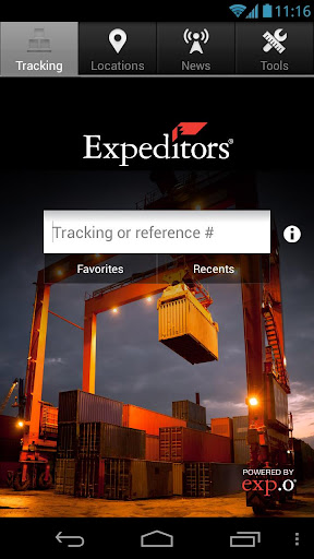 Expeditors Shipment Tracking