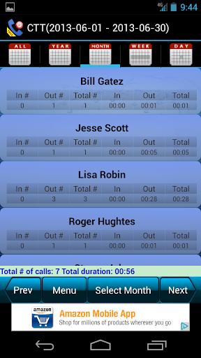 Call Time Tracker+Blocker Free
