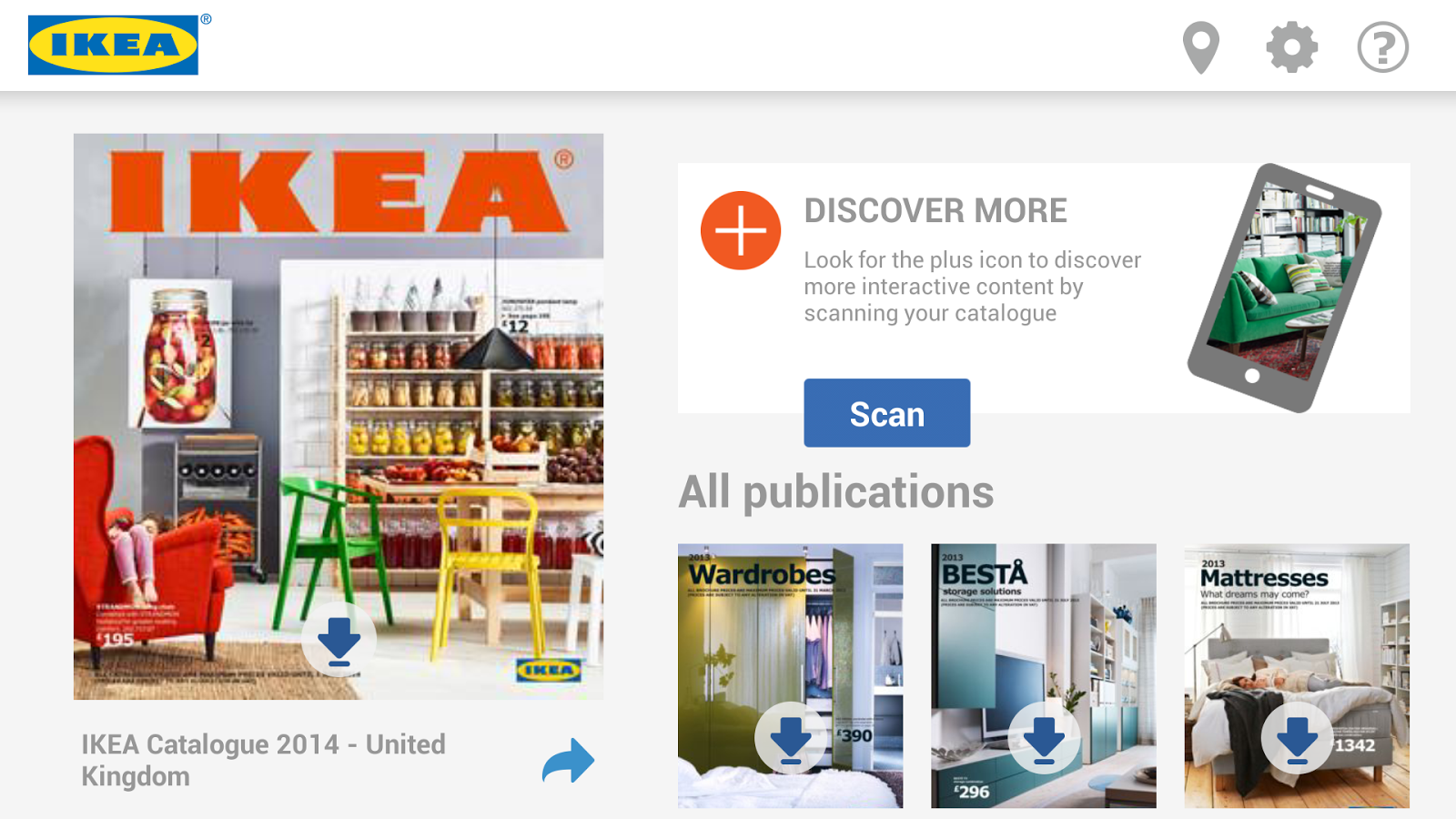 ikea catalogue android apps on google play. Black Bedroom Furniture Sets. Home Design Ideas