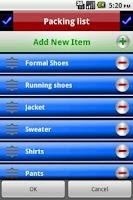 Screenshot of Checklist