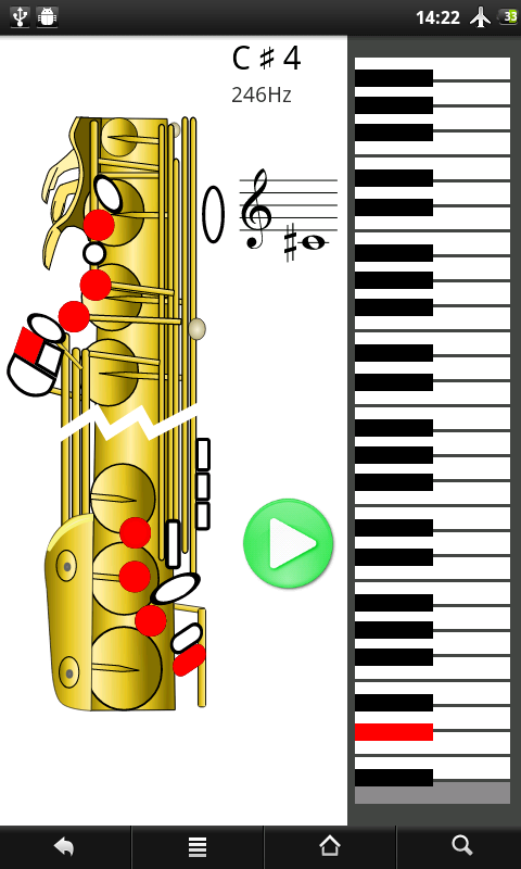 How To Play Saxophone: captura de pantalla