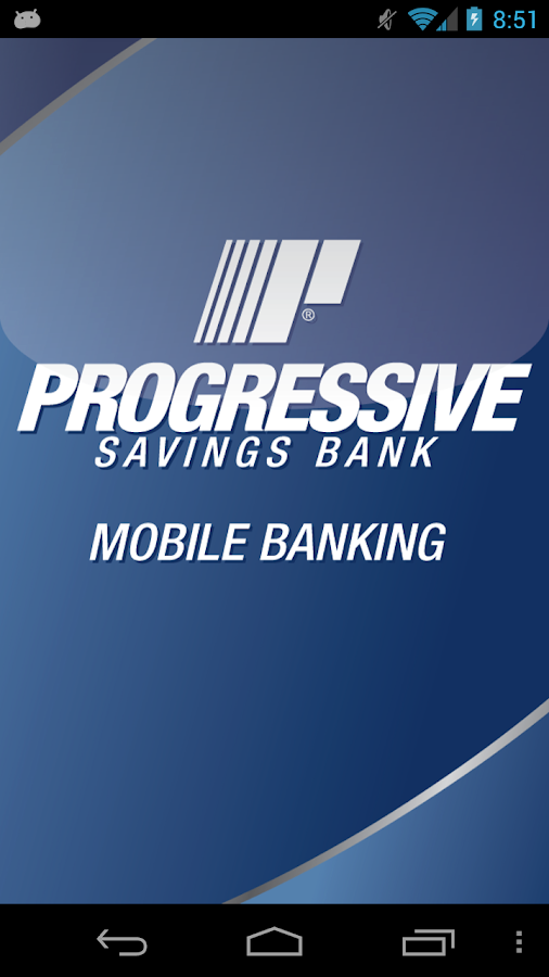 Progressive Savings Bank - screenshot