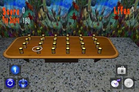Ring Toss 3D Tap Touch Flick- screenshot thumbnail