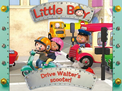 Walter's scooter - Little Boy - screenshot thumbnail