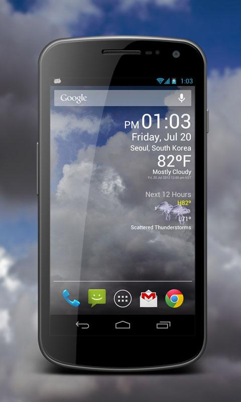 Weather Clock Live Screenshot 4