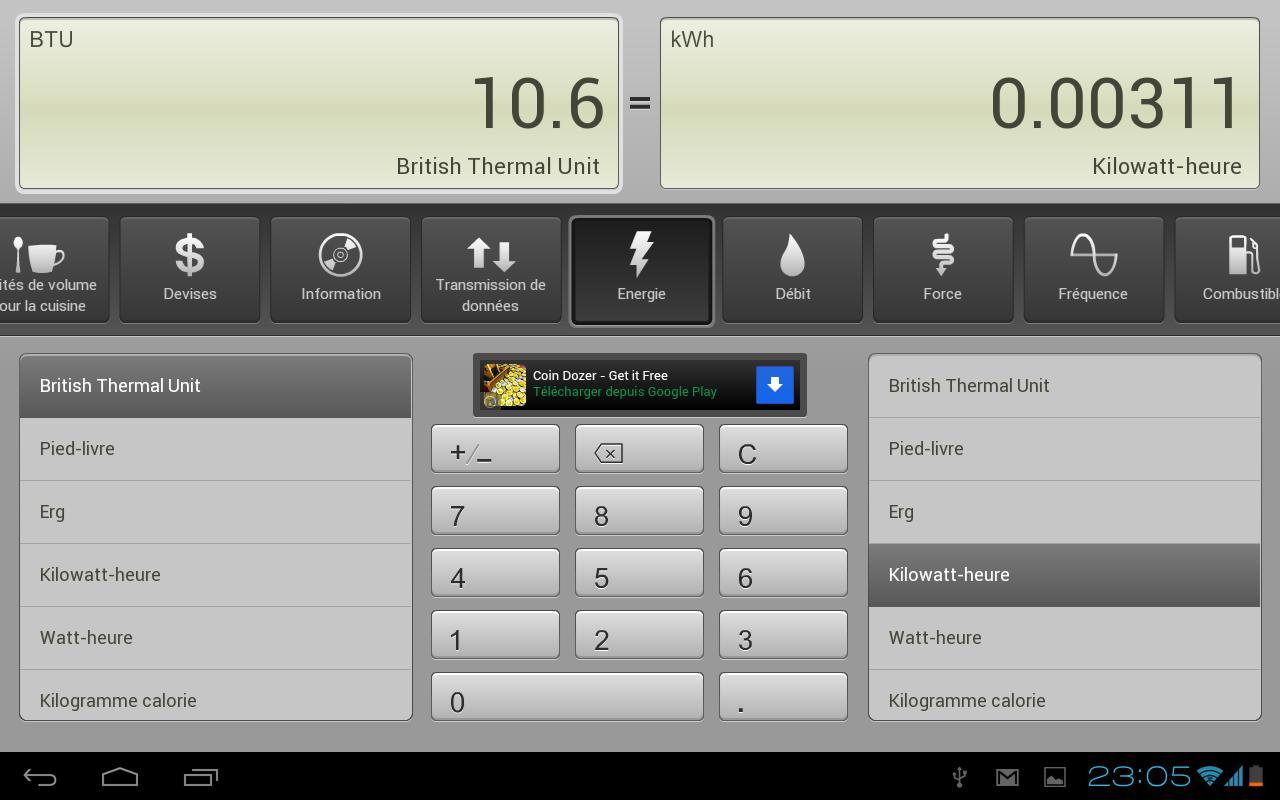 Convertisseur gratuit applications android sur google play - Convertisseur mesure cuisine ...