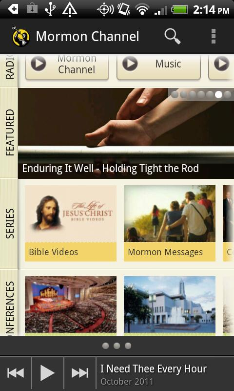Mormon Channel - screenshot