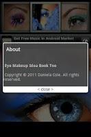 Screenshot of Eye Makeup Idea Book Too