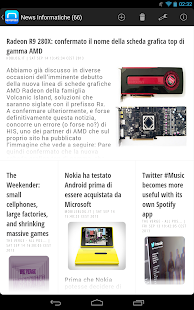 NewsFeed - Feedly Client- screenshot thumbnail