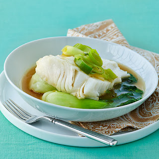 Shallow-Poached Fish in Leek Broth