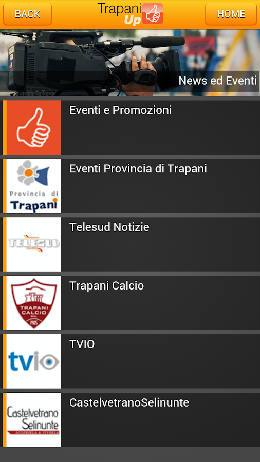 Trapani UP - screenshot