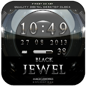 jewel digital clock widget