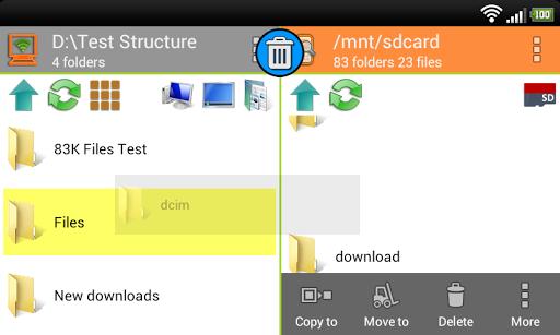 WiFi PC File Explorer Pro  screenshots 6
