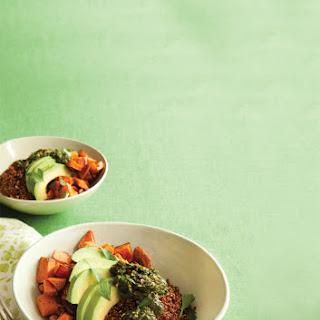 Sweet Potato Bowl with Chimichurri