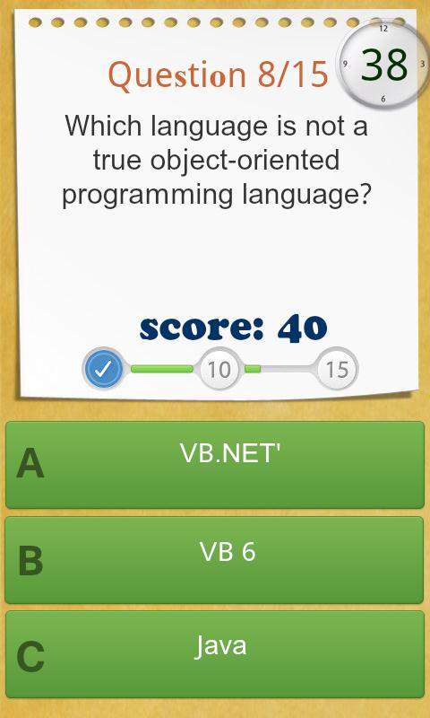 .Net Programming Quiz HD - screenshot