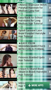 Hairstyle Tutorials - screenshot thumbnail