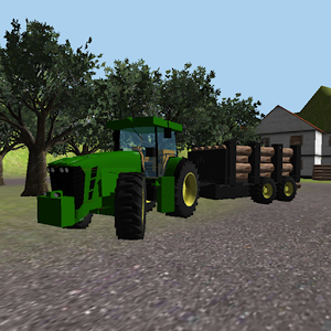 Tractor Simulator 3D: Forestry for PC and MAC