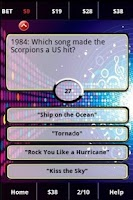 Screenshot of 80s Rockband FunBlast! Trivia