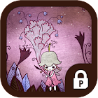 A fairy of flower protector icon