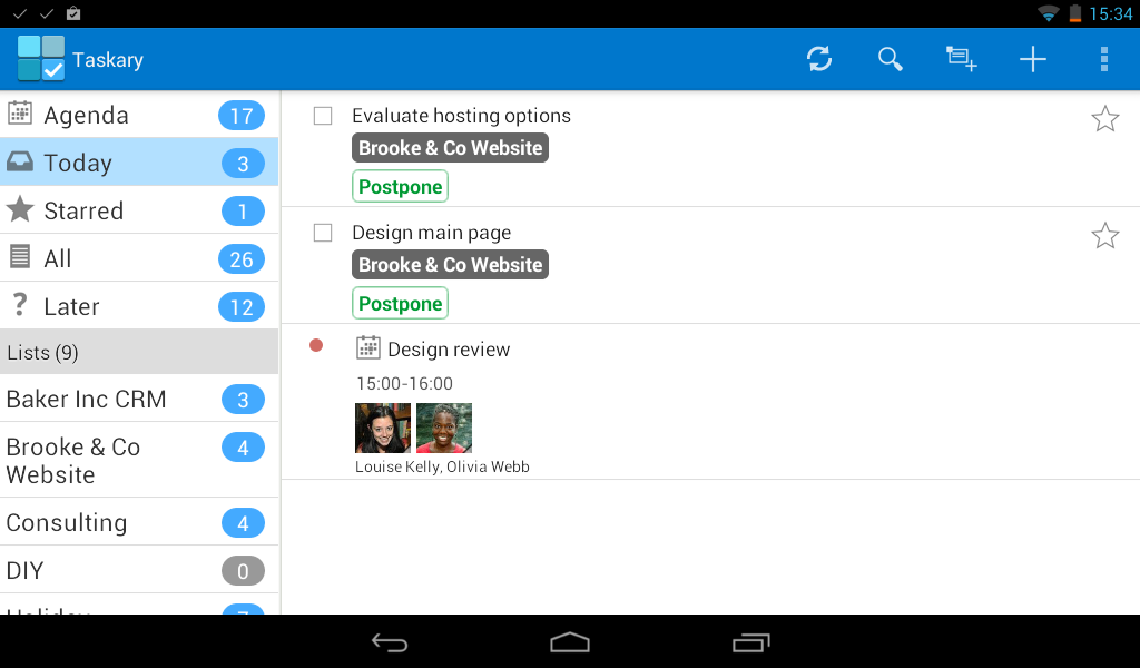 how to use google tasks on android