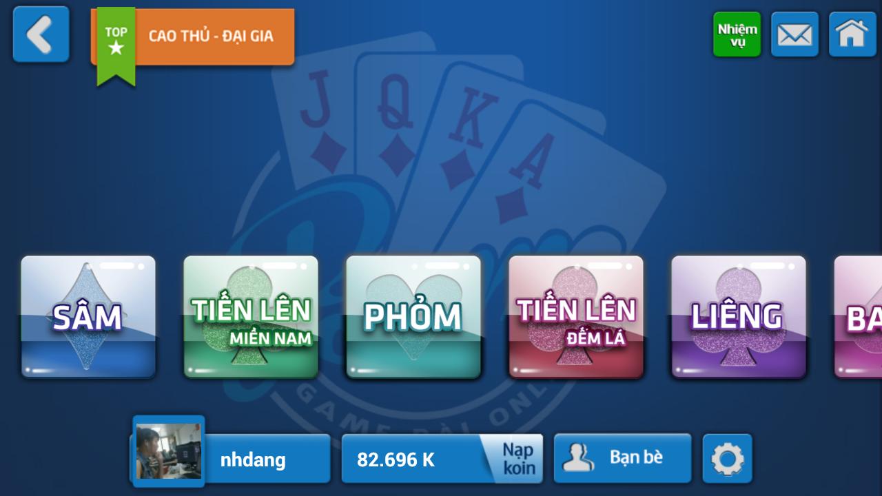 danh bai online dien thoai