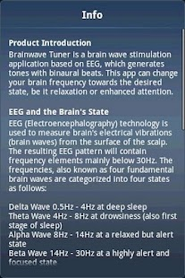 Brainwave Tuner Lite- screenshot thumbnail