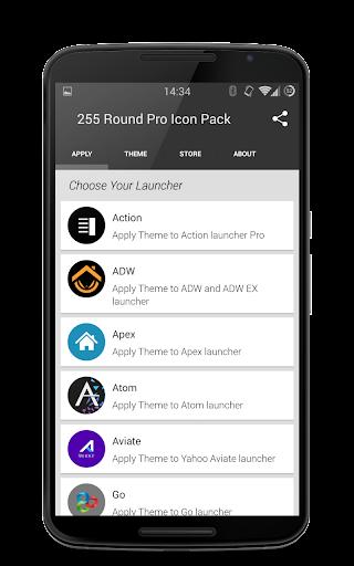 255 Round Pro Icon Pack