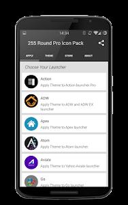 255 Round Pro Icon Pack v4.4